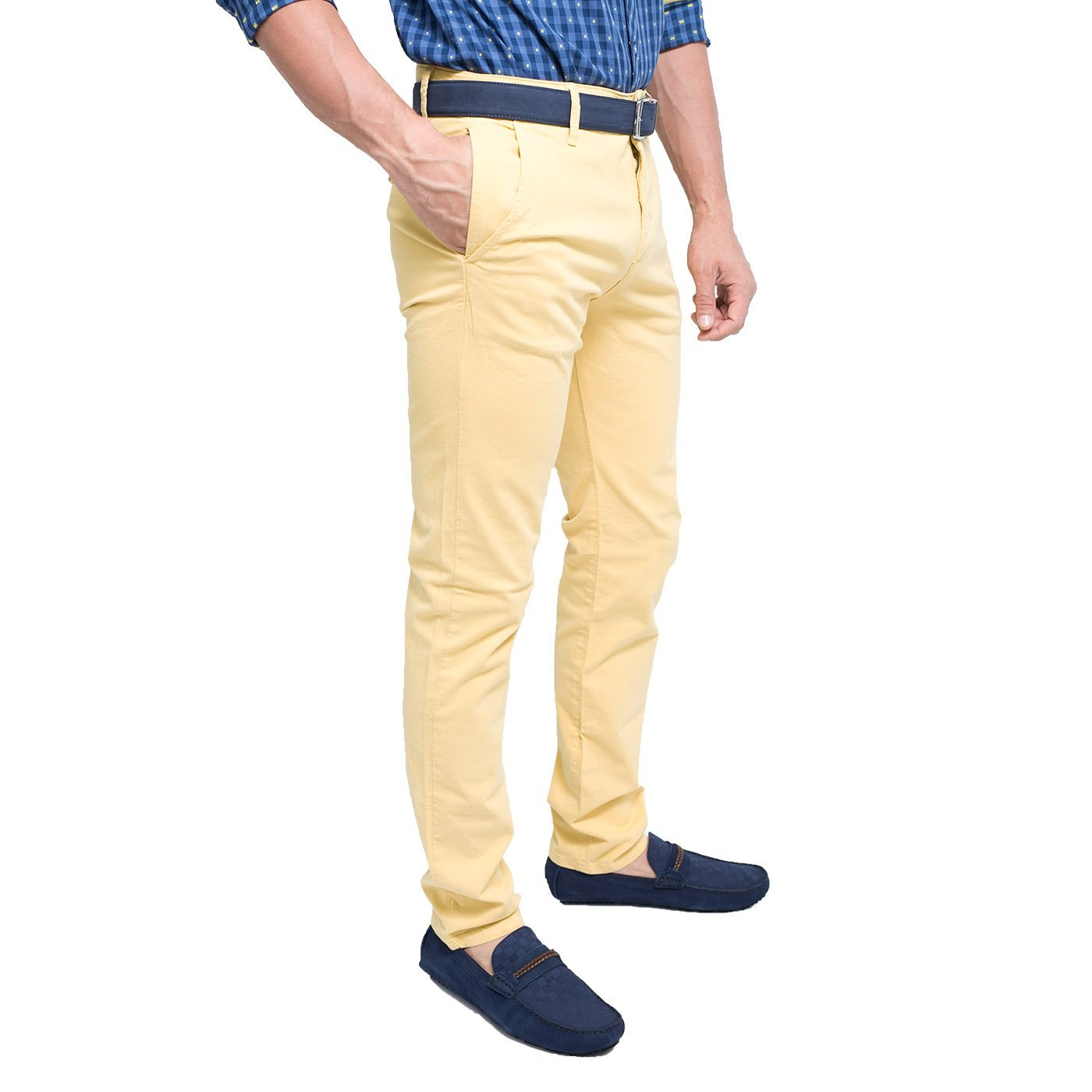 PANTALON DRYL DOBLE BOLSILLO BANANA