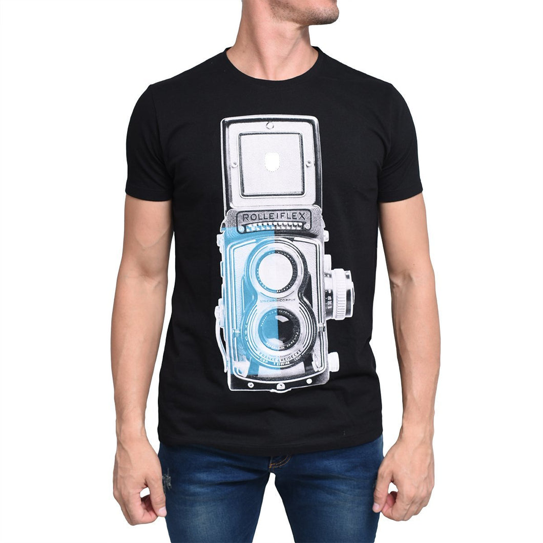 Camiseta F.Nebuloni Camera Black
