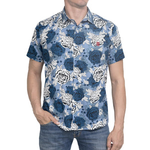 CAMISA TROPICAL AZUL