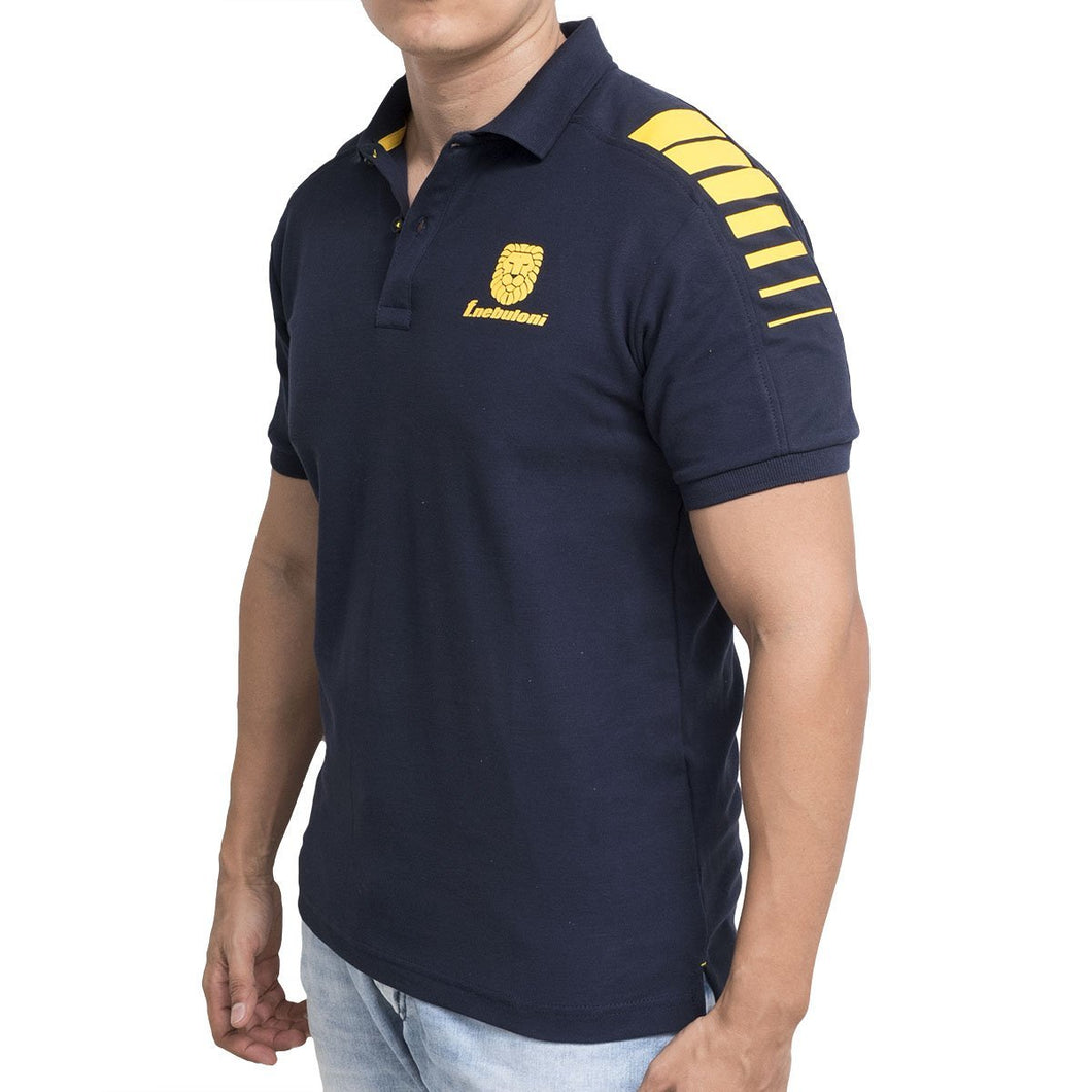 POLO SHOULDER NAVY