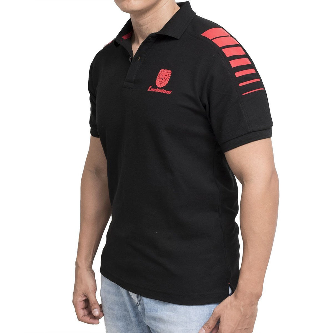 POLO SHOULDER NEGRO