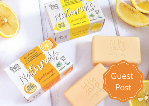 Guest post cover image - little soap company soaps