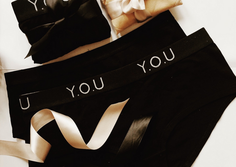 Y.O.U Underwear gift wrapped
