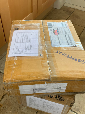 Y.O.U Underwear boxes arrive from India