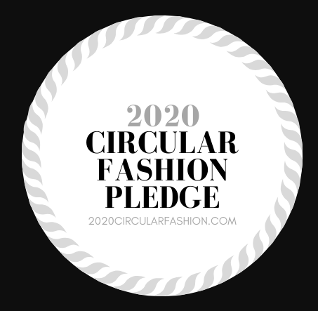 Circular fashion pledge logo