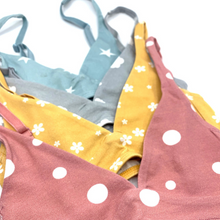 Girls' organic cotton bralettes - Lira pack of 2 pick 'n' mix