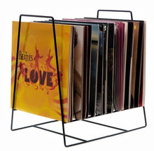 "Large Wire 12"" Vinyl Record Stand"