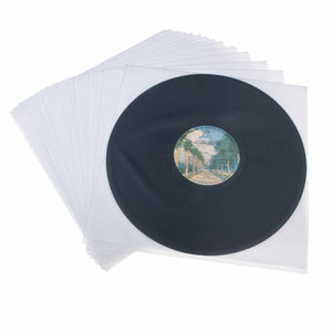 "12"" Antistatic Triple Layer Inner Record Sleeves"