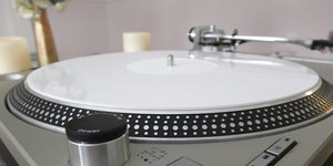 White Perspex (Acrylic) Turntable Mat