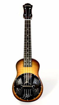 National Ukulele Concert Maple Front