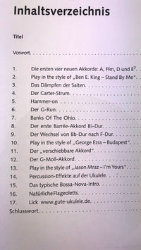 Das Ukulelenbuch 2nd Level