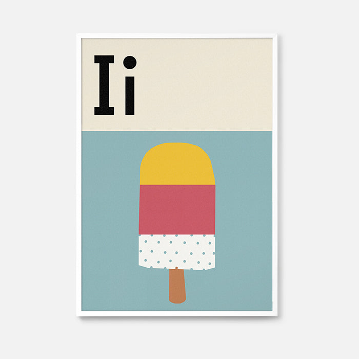 Alphabet - Ice-Lolly