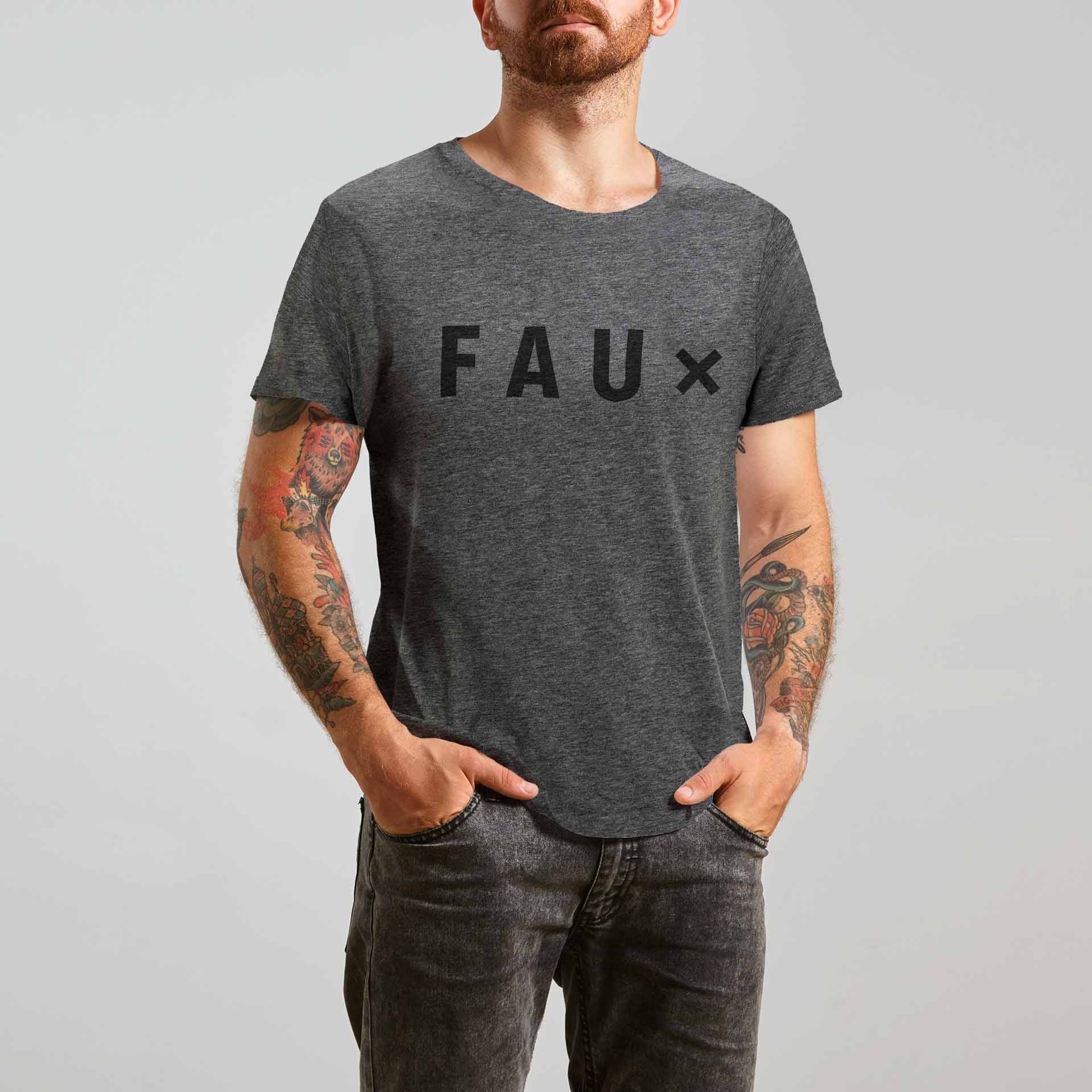 Faux - Dark grey