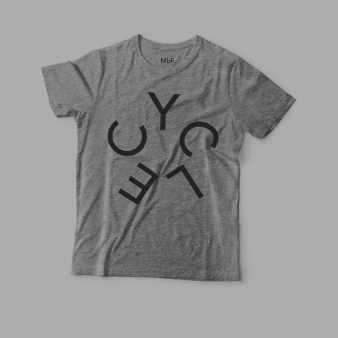Cycle t-shirt grey