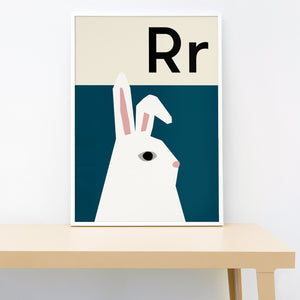 Alphabet - Rabbit