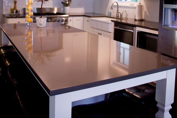 quartz kitchen table