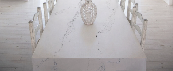 Quartz Dining Tables Using Quartz To Create An Enchanting Dining