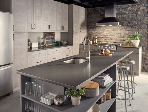 Gray Quartz Countertops: 8 Examples of How They Complete a ...