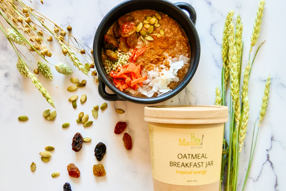 Load image into Gallery viewer, Oatmeal Breakfast Jar