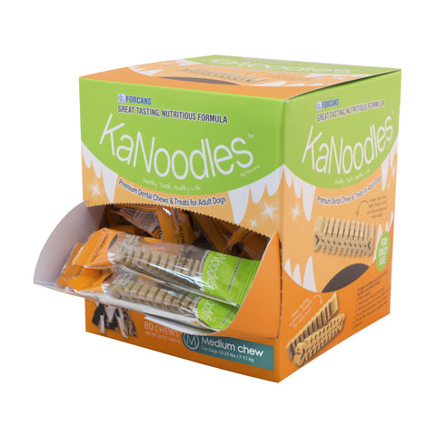 KaNoodles Premium Dental Chew Disp Box  (dog
