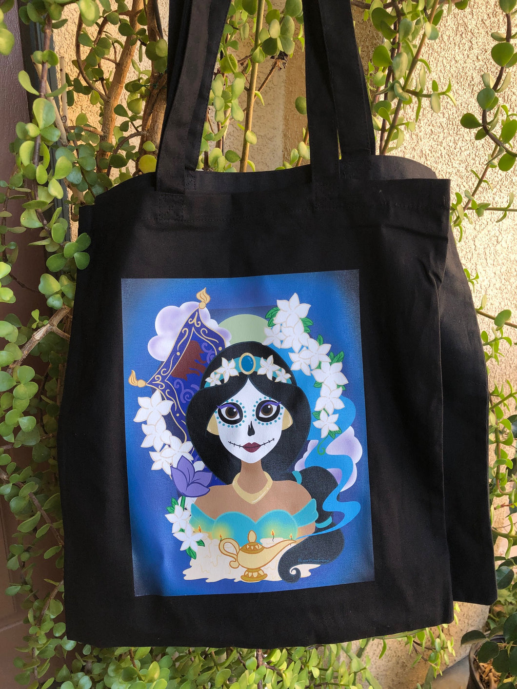 Sugar Skull Princess Tote bag