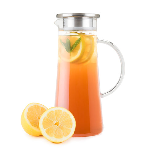 Charlie Glass Iced Tea Carafe by Pinky Up