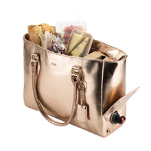 Insulated Wine Tote - Rose Gold