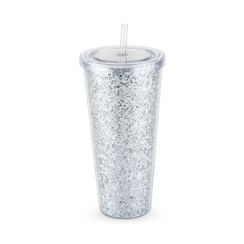 Glam - Double Walled Glitter Tumbler
