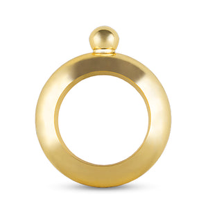 Charade - Gold Bracelet Flask