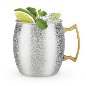 Comet - Silver Glitter Moscow Mule Mug