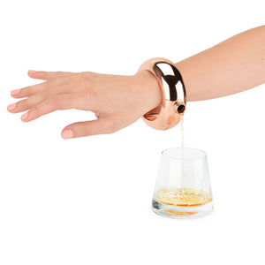 Charade - Rose Gold Bracelet Flask