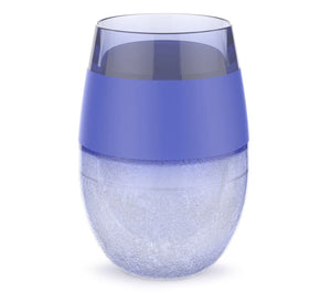 Wine Freeze Cooling Cup - Purple