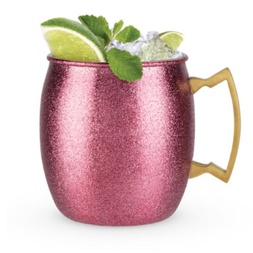 Comet - Pink Glitter Moscow Mule Mug
