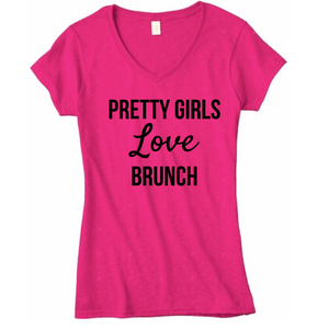 Signature 'Pretty Girls Love Brunch' T-Shirt