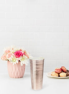 Quinn Rose Gold Travel Tumbler