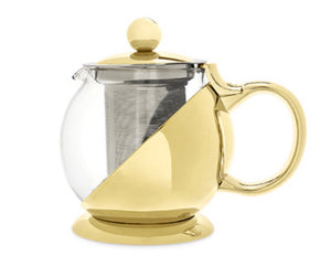Shelby Gold Wrapped Teapot & Infuser