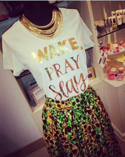 Signature 'Wake, Pray, Slay' T-Shirt