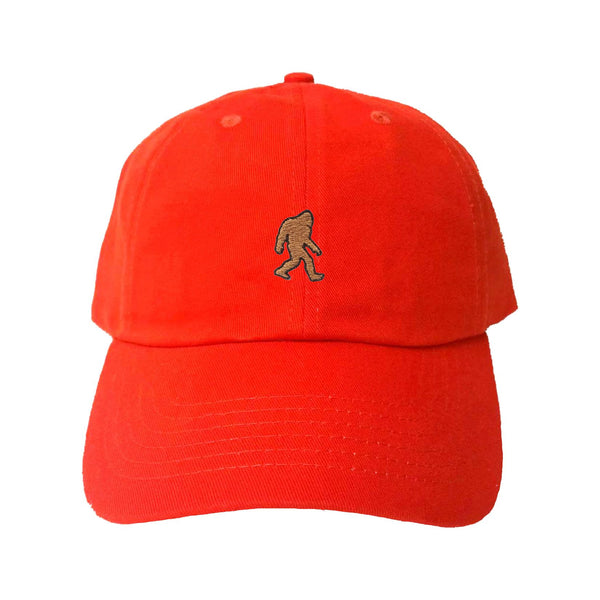 Adult Bigfoot Sasquatch Embroidered Dad Hat – Popping Caps eeddaf1e474