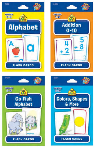 English ASSORTED FLASHCARDS
