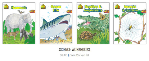 School Zone Science Workbooks