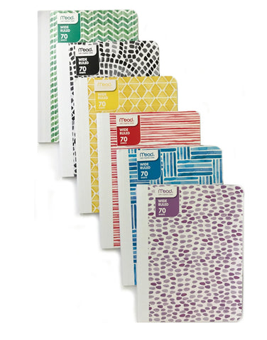 Mead Fashion 70-Sheet Composition Book