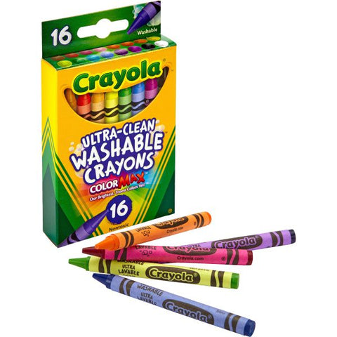 Crayola 16-Count Ultra Clean Washable Crayons