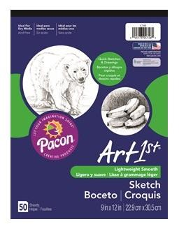 Sketch Pad 9x12 50 Sheets