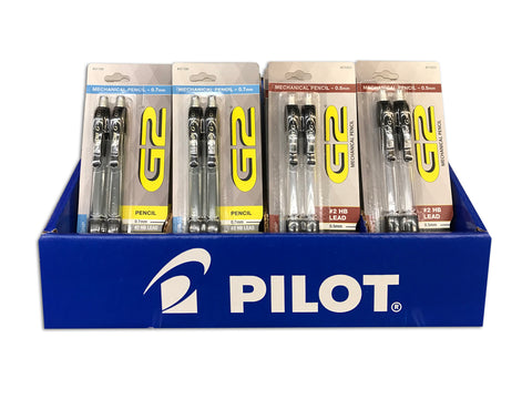 Pilot G2 2-Count Mechanical Pencils Assorted in Display