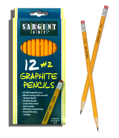 Sargent Art 12-Count #2 PENCILS