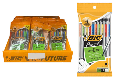 Bic 10-Count Xtra Strong #2 Mechanical Pencils