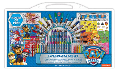 Paw Patrol Super Deluxe Stationery Set