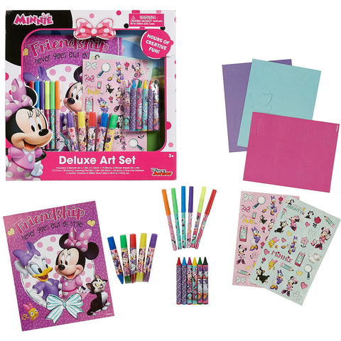 Minnie Mouse Deluxe Art Set