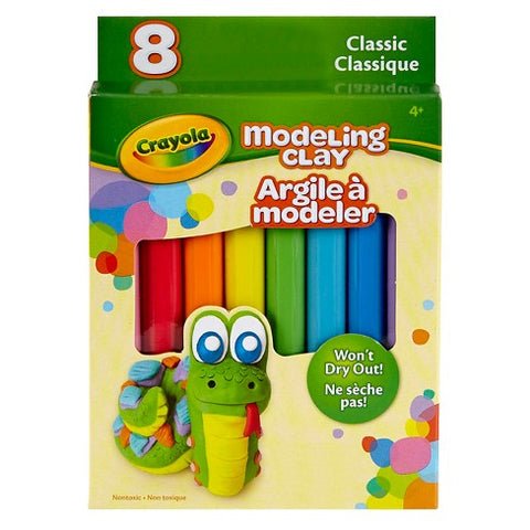 Crayola 8-Count Classic Colors Modeling Clay