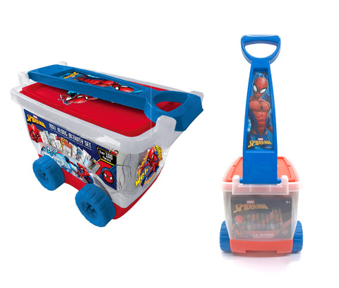 Spider-Man Stationery Set in Rolling Case